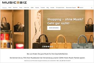 MUSIC2BIZ Online 300x203