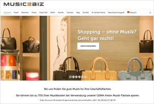 MUSIC2BIZ Online