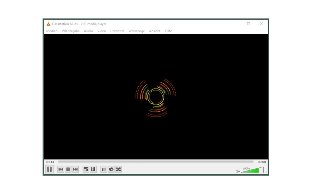 VLC Screen music streaming