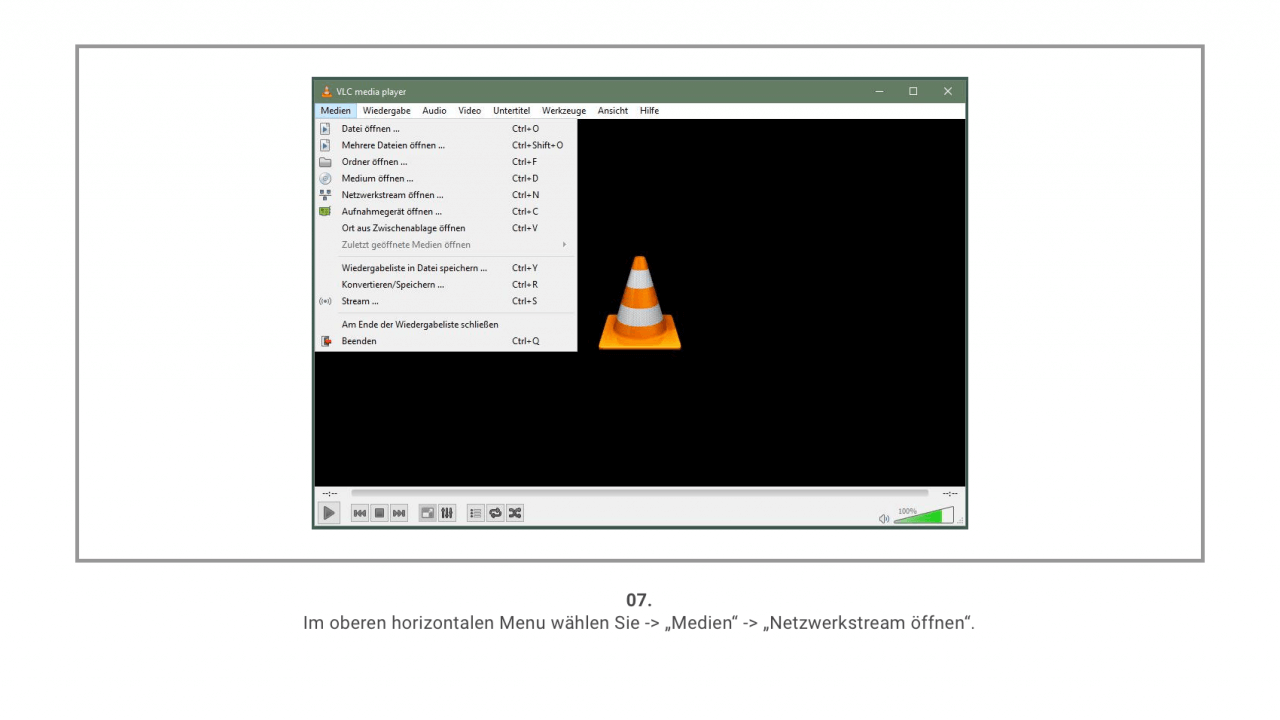 VLC Player Screenshot 7