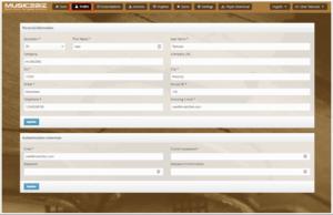 7 customer account profile page