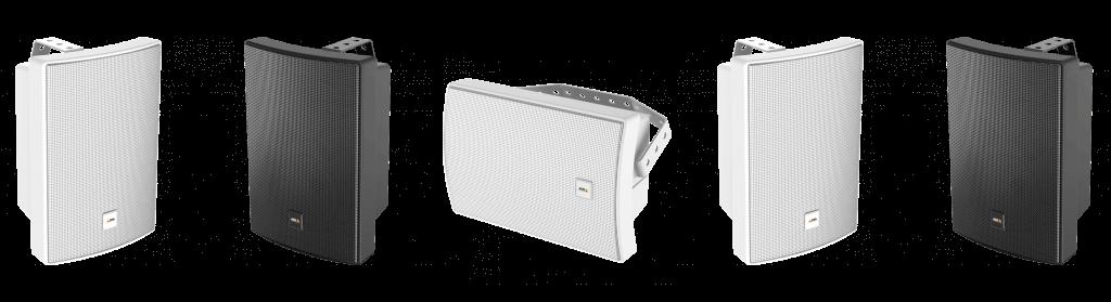 Axis network speakers