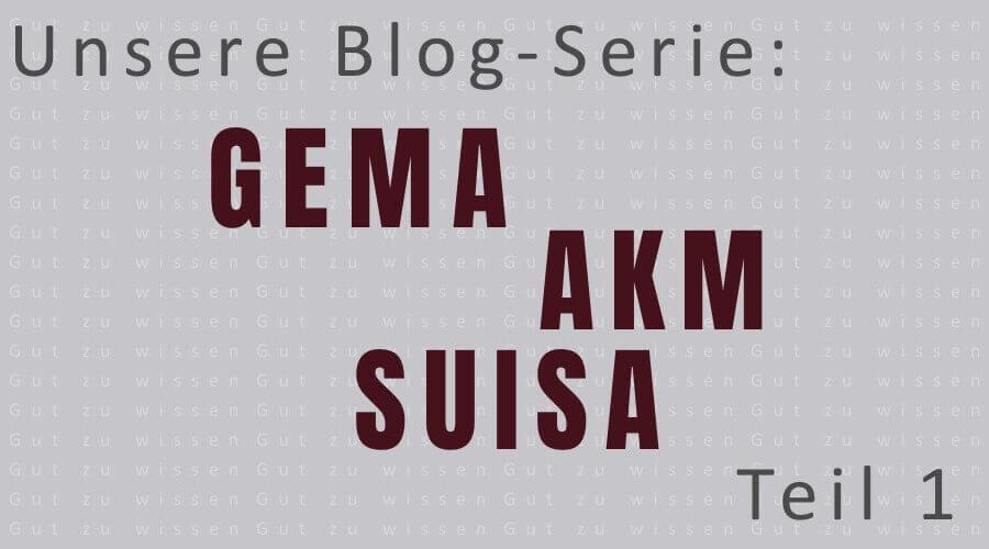 Blog-Serie Teil 1