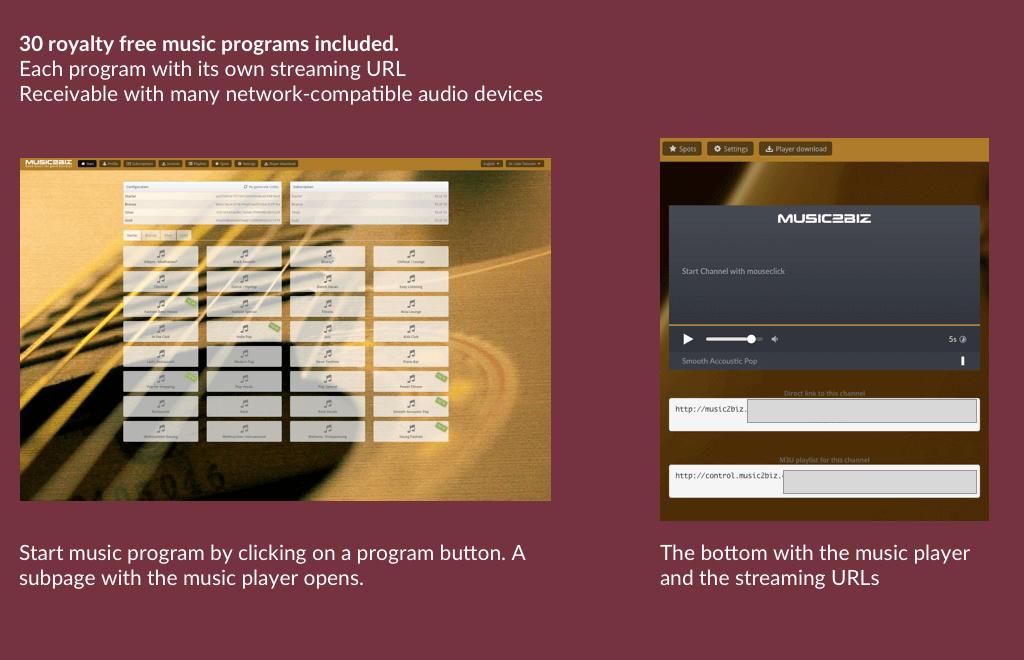 Musicprogram EN