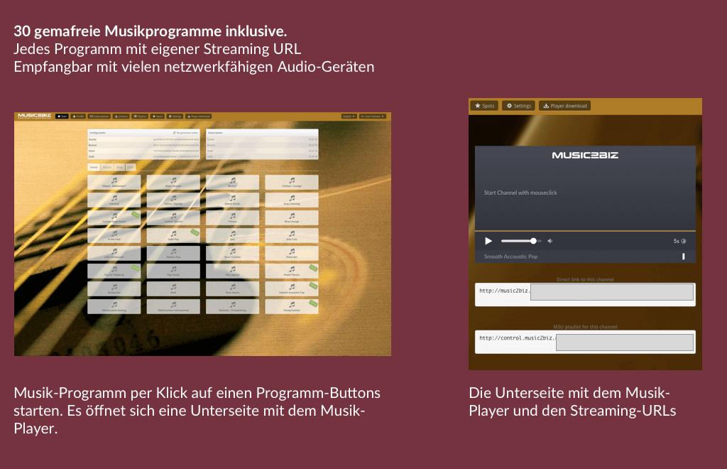 Musikprogramm DE