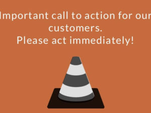 To all software player users among the MUSIC2BIZ customers!