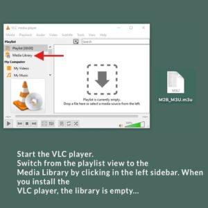 VLC m3u 7 en 1