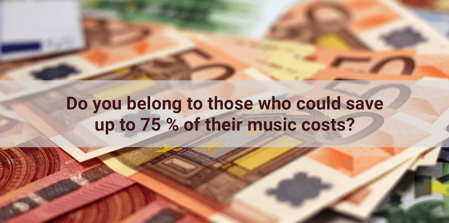 save on music fees