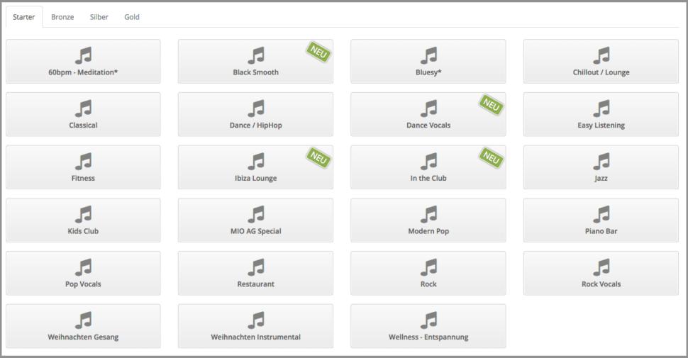 neue musik programme