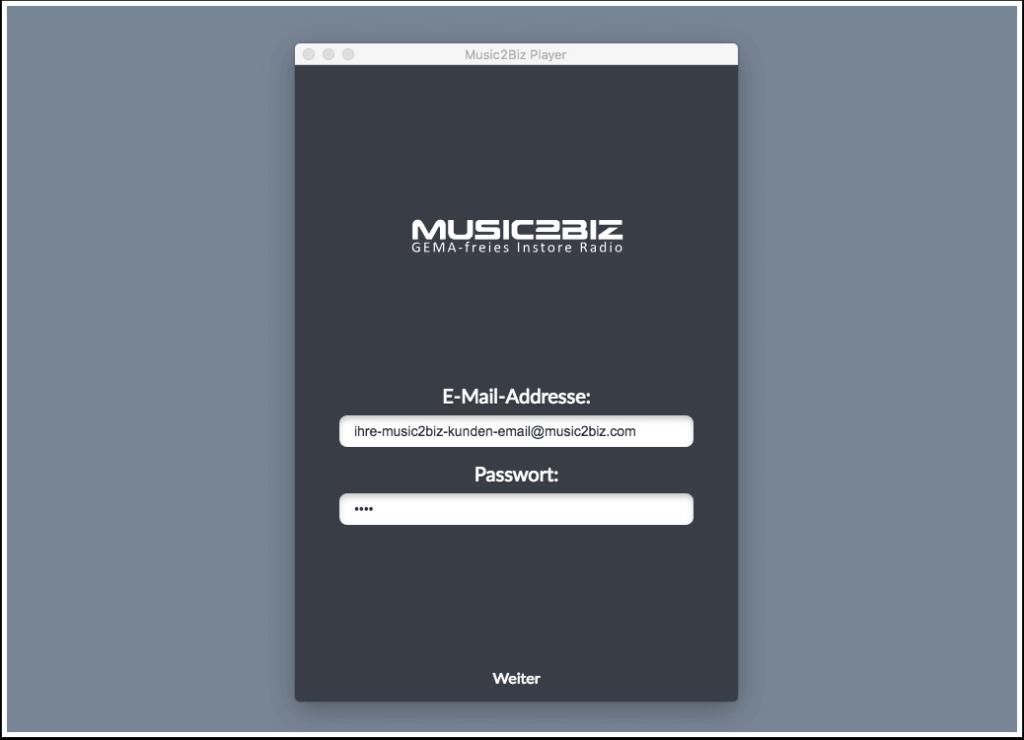 player-login-music2biz-user