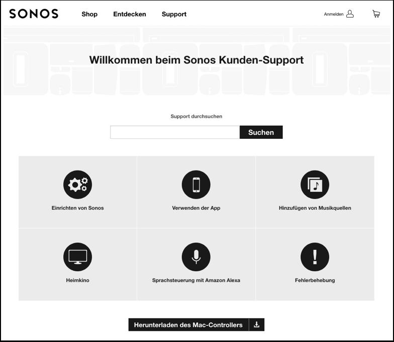 sonos-support-kontakt
