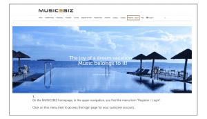 1 visit homepage