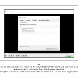 MUSIC2BIZ mit VLC Player nutzen