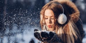 Weihnachtsmusik beim Einkauf