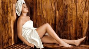 Musik in der Sauna