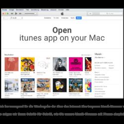 1 Open iTunes App
