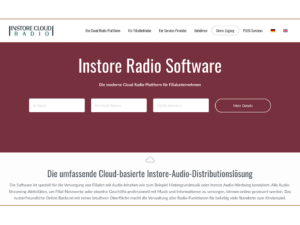 Instore Cloud Radio von MUSIC2BIZ