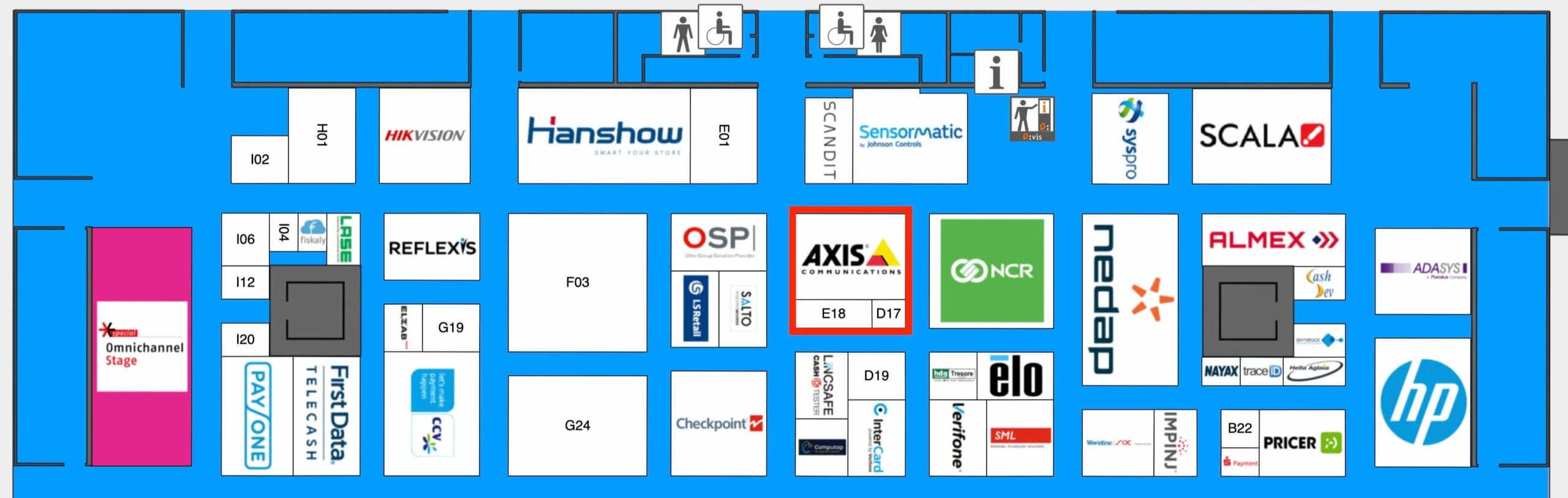 euroshop halle 6 axis