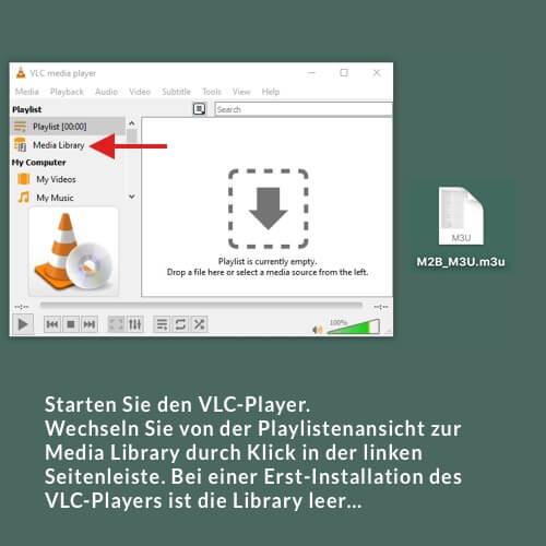 VLC m3u DE 7