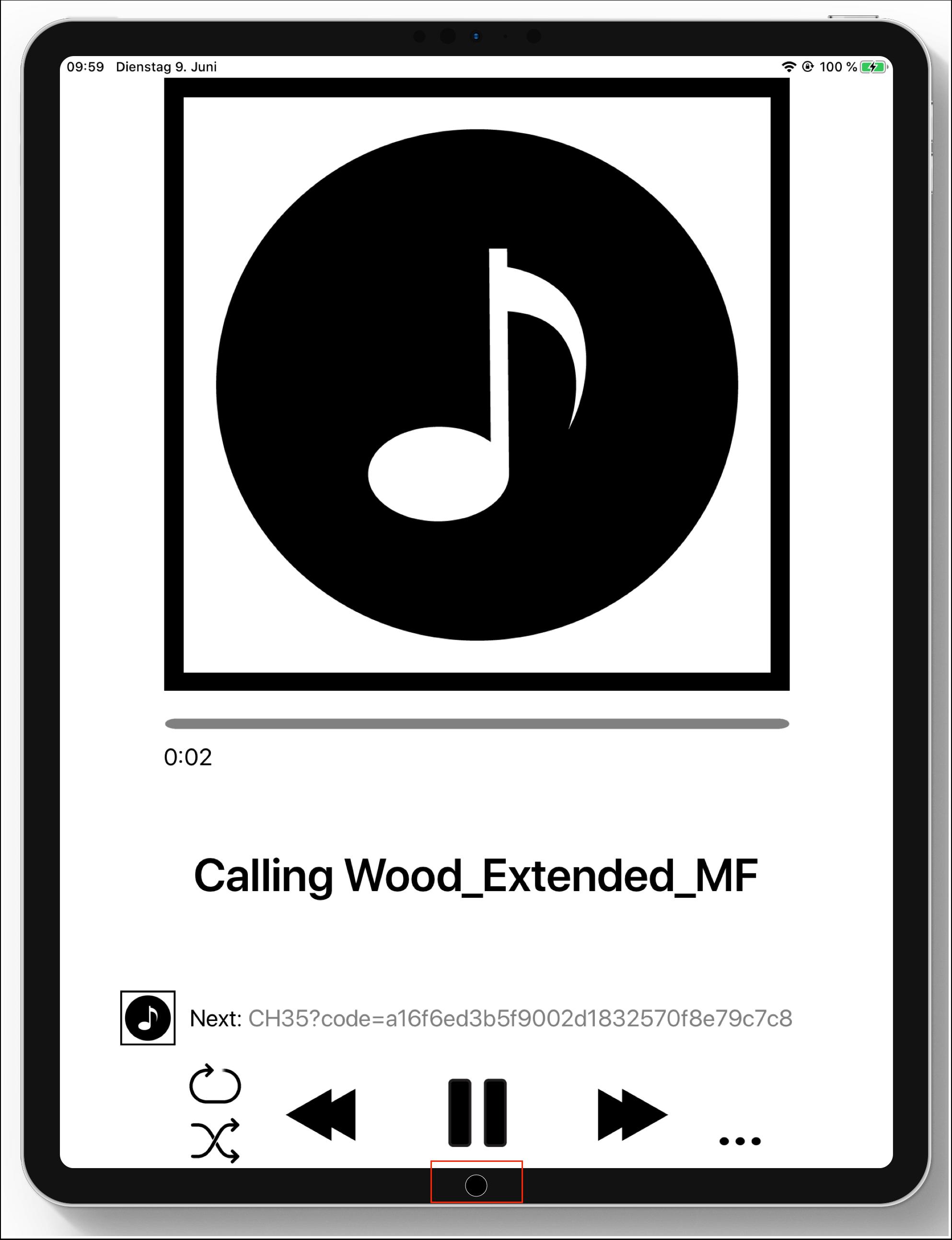 foobar spielt die musik auch in hintergrund ab 1
