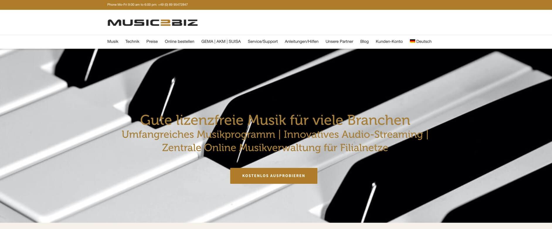 Homepage DE 1