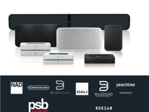 Erstklassige Multiroom-Audiotechnologie jetzt für MUSIC2BIZ verfügbar.