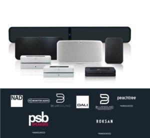 BluOs erstklassige Multiroom Audiotechnologie